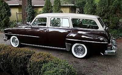 1953 Chrysler Town & Country  1953 Chrysler New Yorker Town & Country Wagon, ONE OWNER, ENTIRELY ORIGINAL!