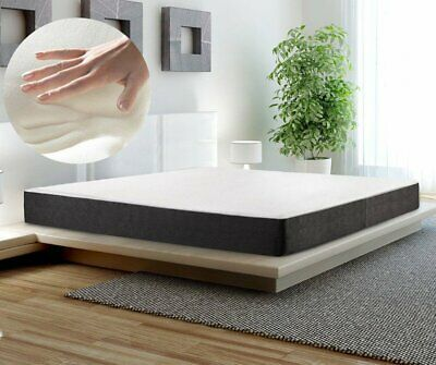 """12"""" Inch Cool Gel Memory Foam Mattress, Bed, King Size with no Pillows MX"""