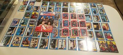 The A-Team - Box - Complete Trading Card + Sticker Set (66/12) - 1983 Topps - NM