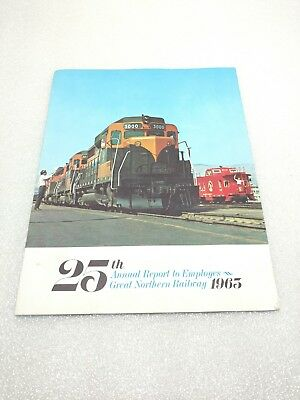 1963 Great Northern Railway Annual Report