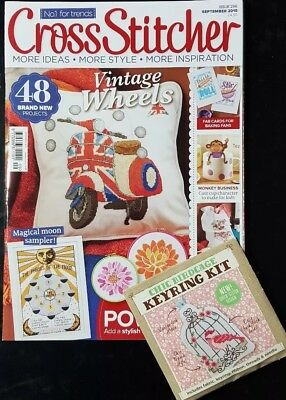 Cross Stitcher Issue 296 With Free Gift