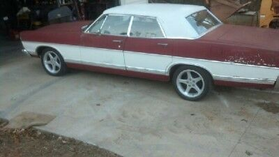 1967 Ford Galaxie  1967 Ford Galaxy 500 4door fuel injected