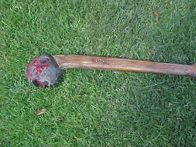 Seminole Carved Wooden War Club..circa 1860's