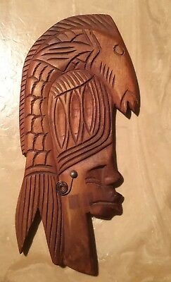 Tribal Wood Mask
