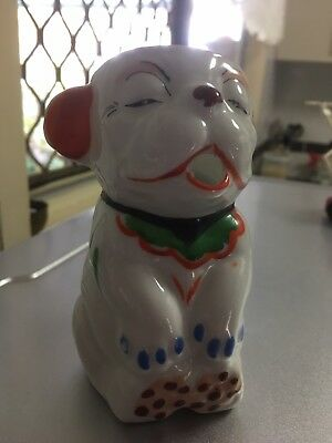 Bonzo Dog Milk Jug  1940's Era 100% Perfect Condition
