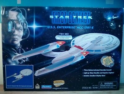 1996 Star Trek First Contact USS Enterprise NCC-1701E,Playmates FACTORY SEALED!!