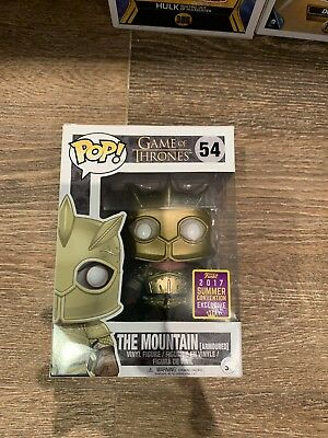 The Mountain Armored SDCC 2017 Exclusive Funko Pop Game Of Thrones