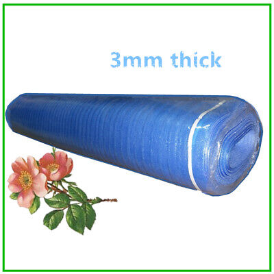 3mm Thick Underlayment for Laminate Padding Vinyl Flooring Foam 200 sqft Blue pa