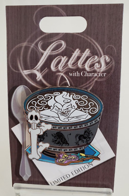 Disney Lattes With Character Hades Hercules  Pin Month LE 3000 Latte Pain Panic