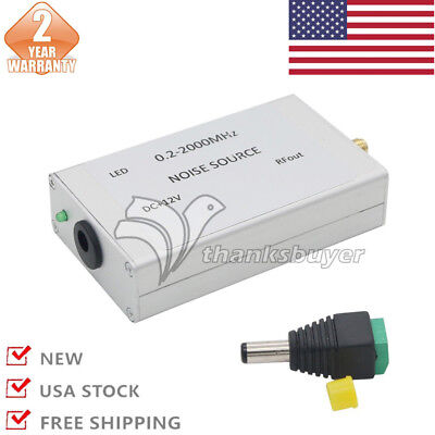 US 0.2-2000M Noise Signal Generator Noise Source Simple Spectrum Tracking Source