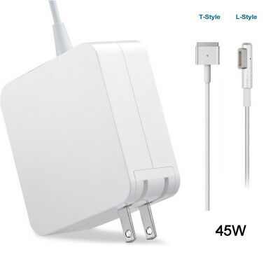 "45W L-Tip/T-Tip US EU AC Power Adapter Charger for Apple Macbook Air Pro 11"" 13"""