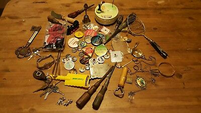 Vintage To Present Junk Drawer Lot