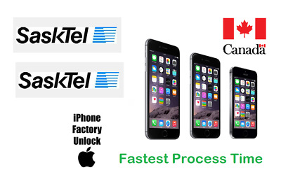 Sasktel UNLOCK BY IMEI ALL IPHONE MODELS 4/4S/5/SE/6/6+/6S/6S+/7/7+8/X,XR,Max/11