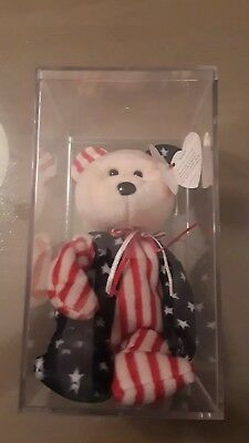 Ty Beanie Baby Spangle Limited Edition Error