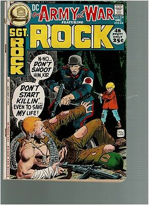 Our Army at War 239 Sgt Rock Joe Kubert Cvr 48 pages  VG/F