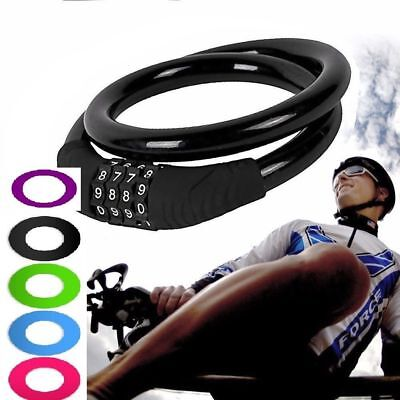 Combination Bike Cable Lock Bicycle Heavy Duty Cycle Cycling Motorcycle Security