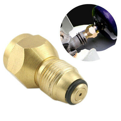 Propane Refill Adapter Lp Gas 1 Lb Cylinder Tank Coupler Heater 100% Brass