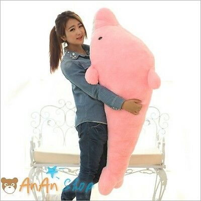Big Gaint 1 4m 55 In Cute Plush Dolphin Huge Stuffed Animal Doll