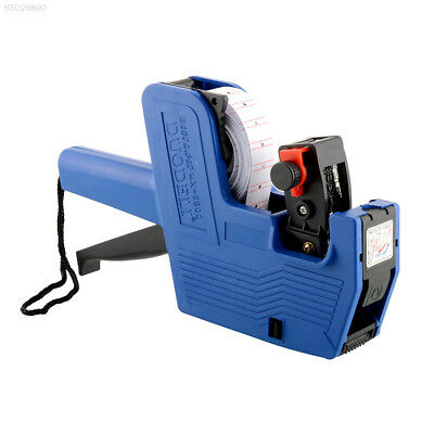 8413 MX-5500 EOS 8-Digits Price Tag Gun retail labeller with Ink White labels to