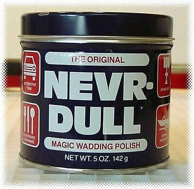 The Original NEVR-DULL Magic Wadding Polish - Metal Polish