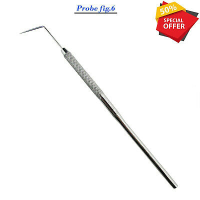 Single End Scaler Dental Hand Instruments Oral Surgical Dentists Tools Ce New