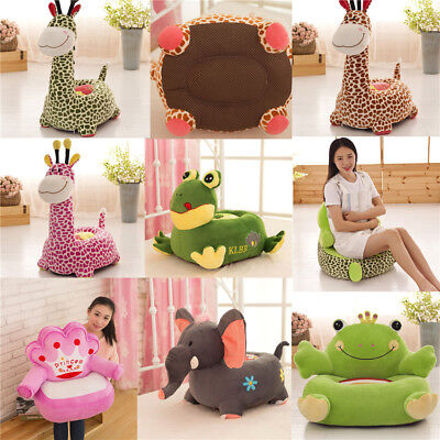 Plush Soft Toy Sofa Seat New Animal Children Baby Toddler Cushion Chair Non-slip