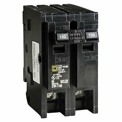 Square D by Schneider Electric HOM2100CP Homeline 100-Amp Two-Pole Circuit
