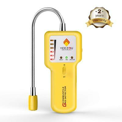 New Upgrade Natural Gas Detector, Combustible Propane Gas Leak Sniffer