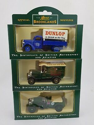 Lledo - The Spirit Of Brooklands Diecast Model Collection - bundle 3 × cars