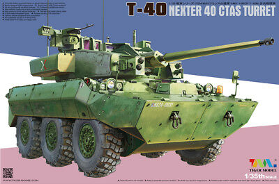 Tiger Model 1/35 4665 AMX-10 RCR T-40 Nexter 40 Ctas Turret