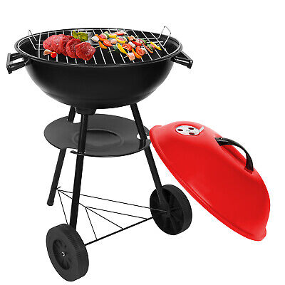 BBQ Edelstahl Holzkohlegrill Klappgrill Standgrill Tragbar Camping Grill