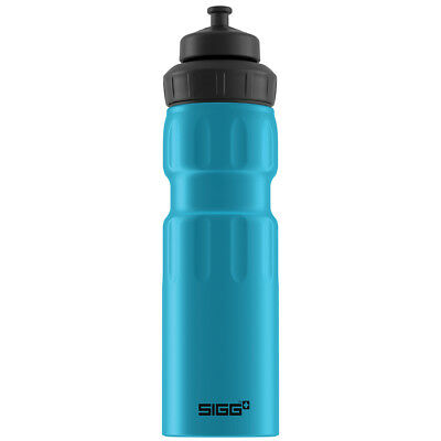 NEW SIGG Sports Blue Touch Wide Mouth Drink Bottle 750ml