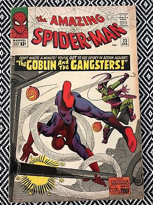 Amazing Spider-Man #23  : GD/VG Silver Age Marvel Comic