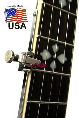 Shubb 5th String FS Nickel or FSB Brass Capo for Banjo Short Scale
