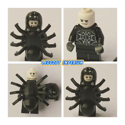 Custom Minifigure Head Vampire Blue Eyes Halloween Printed on LEGO Parts
