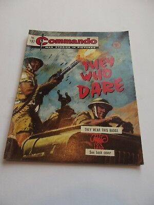 Commando Comics - No.197 - They Who Dare