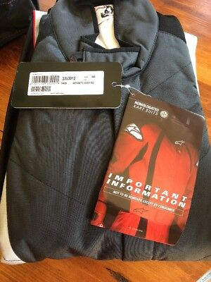 Alpinestars K-MX5 Suit Euro 44 Silver Anthracite Red
