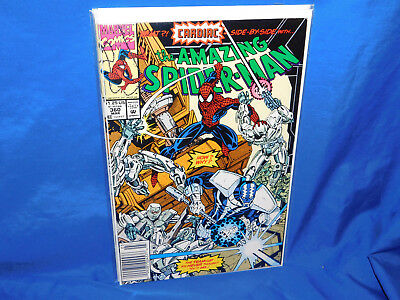 Amazing Spider-Man #360 VF Newsstand 1992 1st Appearance Carnage Cameo Marvel