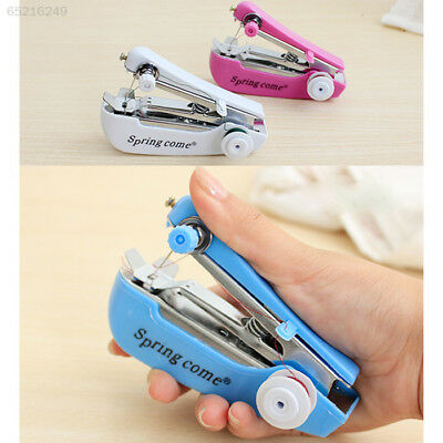 09D5 Hand-held Pocket Sewing machine Household Home Manual Mini Clothes Pocket-s