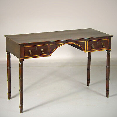 Antique Side Table / Desk George IV - C1820 - Mahogany (delivery available)