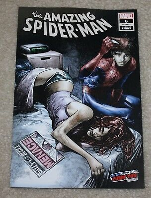 Amazing Spider-Man 6 Lgy 807 Humberto Ramos Nycc Exclusive Variant Mary Jane Hot