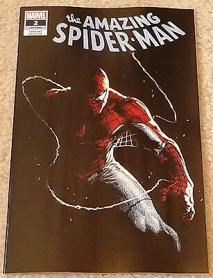 Amazing Spider-Man 2 Lgy 803 Dell Otto Logo Variant New Villain Origin Very Hot!