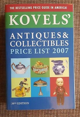 Kovel's Antiques & Collectibles Price List 2007