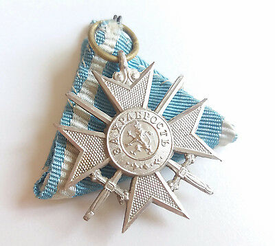 Bulgaria Royal Order Wwi ,,soldiers Cross For Bravery'' Iii Class