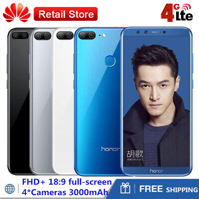 """Huawei Honor 9 Lite Gris 4Go 32Go 4Camera FHD Smartphone Android 8.0 5.65"""" FHD+"""