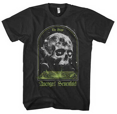Avenged Sevenfold-The Stage Skull-X-Large Black T-shirt