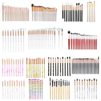 20PCS Makeup Brushes Set Foundation Blush Face Powder Eye Shadow Eyeliner Brush