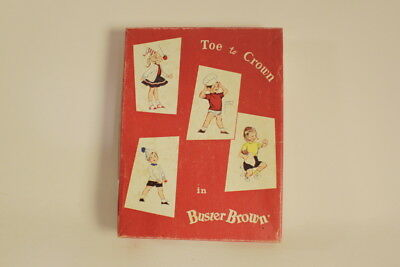 Vintage Buster Brown Sock Box - Collectible (Box Only) 6153 6-7