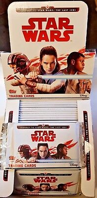 Topps Disney Journey To STAR WARS THE LAST JEDI TRADING CARDS = 29 CARDS