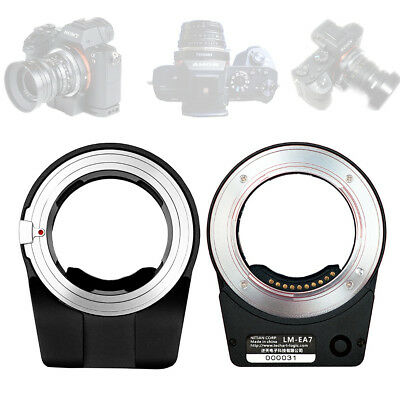 TECHART Pro LM-EA7 Auto Focus Lens Adapter for Leica M LM Lens to Sony NEX E FE